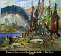 Les Laurentides, Province du Quebec Explore, Creative, Painting, Painters, Painting Art, Paintings, Paint, Draw, Exploring