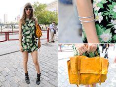 Jesse Meighan | Street Style New York Fashion Week Spring 2014 | Everywhere