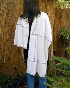 Organic Rib Knit Scarf/Shawl. Grown, cut and sewn in the USA. A Kasper Organics exclusive. Matching knit hat available. Great with jeans or a skirt. Perfect wrap for a cool Summer evening.