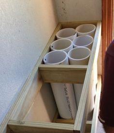 Gardening Tool Reorganization- PVC Storage Hack – garden shed ideas diy Outdoor Tools, Outdoor Tool Storage, Storage Shed Organization, Power Tool Storage, Diy Garage Storage, Garden Tool Storage, Storage Design, Storage Hacks, Craft Storage