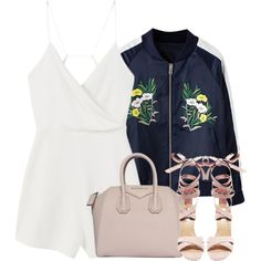 Untitled #4261 by maddie1128 on Polyvore featuring MANGO, Steve Madden and Givenchy
