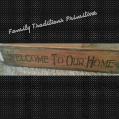 """To order pm me at www.facebook.com/familytraditionsprimitives. 5 1/2 x 26"""""""