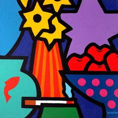 Homage to Tom Wesselmann Pop Art  Greeting Card