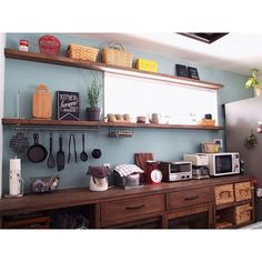 Trendy home organization kitchen cabinets Ideas Bedroom Organization Diy, Kitchen Cabinet Organization, Kitchen Interior Inspiration, Kitchen Countertops, Kitchen Cabinets, Home Gym Mirrors, Home Bar Cabinet, Home Office Closet, Ikea Shelves