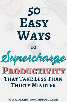 Over 50 productivity