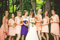 Light Orange and Purple - Sara Long Photography