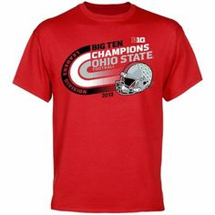 Ohio State Buckeyes 2013 Big Ten Leaders Division Champions T