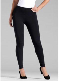 Lot de 2 leggings, BODYFLIRT, noir + noir