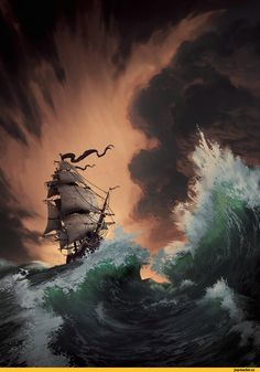 красивые картинки,art,арт,море,Lorenzo Lanfranconi