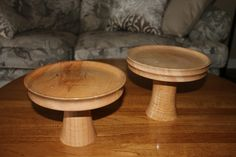 Maple Cake Platters