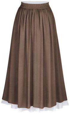 Full Length Skirts, Full Circle Skirts, Moda Medieval, Dress Form, Rowan, Modest Outfits, Midi Skirt, Fashion Dresses, Lace Up