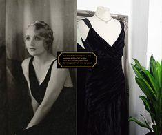 Bias Cut Dress, Black Velvet Dress, Flapper Style, 1930s Fashion, Vintage Velvet, Dream Dress, Occasion Dresses, 1920s, Vintage Dresses