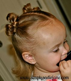Lots of thin toddler girl hairstyles