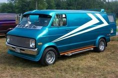 '70 (?) Chevy Van. Let's be honest, if I had a van, I would do this.