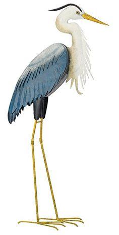 Blue Heron Garden Bird Our Original Blue Heron Garden Bird Statue Has Been  The Best Selling Metal Bird Statue In The Line For Over Four Years.