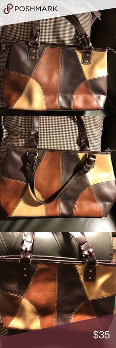 c030005ff868 Relic handbag Leather multicolor handbag by Relic 8.5 long x 15.5 wide x 4  depth Relic