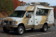 Chinook Baja Extreme in a Connecticut rest area, November 17, 2007.  Photo by Tim Pierce. (pinned by haw-creek.com)