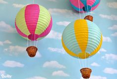 paper lantern hot air balloon - Google Search