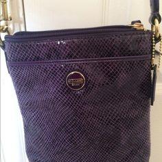 Coach Handbags - Coach purple crossbody