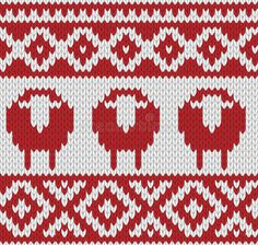 Download Knitted Seamless Winter Pattern Stock Vector - Illustration of illustration, hipster: 45878916