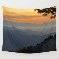 Wall Tapestries featuring Mountains by Guido Montañés