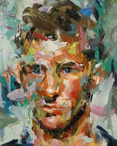 expressionistic portrait