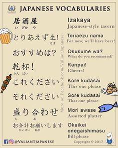 Japanische Vokabeln:Essen und Trinken.