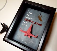 Star Wars I Love You To The Death Star And Back by TheCenterFold