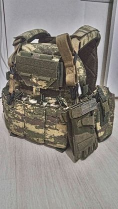 Plate Carrier Vest by İsg Tactical Gear in Turkish Land Forces Camo camouflage, ready to ops, www.izmiravmarket.com