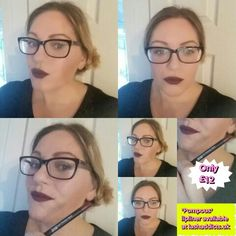 #pompous lipliner from #younique we have 5 different colours from pinks to purples, click lashaddicts.uk and select LIPS to see all 5 colours xxx