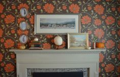 October Decorating Ideas: Mary's Fall Fireplace