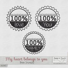 3 free stamps, available on my blog