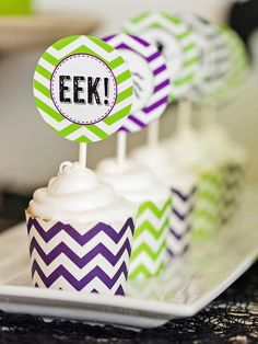 These Cupcakes Are Tops in Host a Kids' Craft Party for Halloween from HGTV