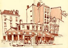 SKETCH OF THE DAY: Paris