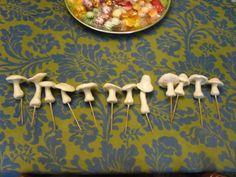 Glow in the Dark clay mushrooms