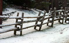 Old Fence - photo by meantux