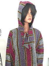 Hoodie Tunic Women XXL Plus Size Mexico Rug Designer Fashion Hip Bohemian