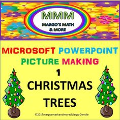Video demonstrates how to make Christmas trees using the basic shapes of Microsoft Powerpoint. Narrated, comprehensive, simple.Step by step. Great for centers!
