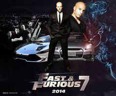 DE PELÍCULA. Rapido y Furioso 7, Fast & Furious 7 o A Todo Gas 7, como gusten.