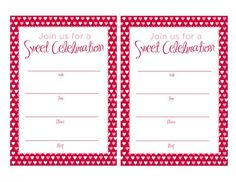 FREE Valentine's Day Printables from Magnolia Creative Co