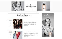 Balenciaga - Banner Ads in context