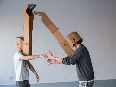 Genius: A Periscope That Gives You Eyes in the Back of Your Head |  The EyeTeleporter is a periscope that you can use three ways.   | Credit: Aurimas Lazinskas | From WIRED.com