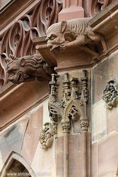 Strasbourg Cathedral Gargoyle 4