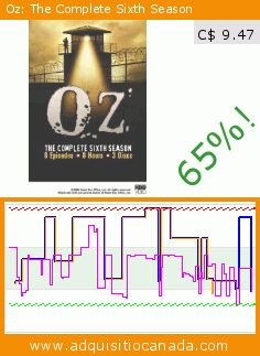 Oz: The Complete Sixth Season (DVD). Drop 65%! Current price C$ 9.47, the previous price was C$ 26.99. https://www.adquisitiocanada.com/hbo-warner/oz-complete-sixth-season
