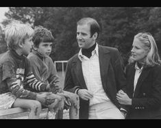 1977: Joe and Jill Biden with Joe's sons Hunter and Beau from his marriage to Neilia Hunter (Neilia died in a car crash that also took Biden's daughter Naomi).