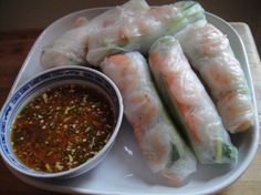 Cook the Book: Shrimp and Mint Summer Rolls