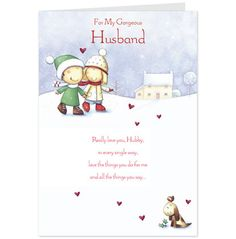 The 27 best christmas card ideas images on pinterest card ideas gorgeous husband christmas card hallmark uk amazon card hallmark greeting cards handmade greetings m4hsunfo