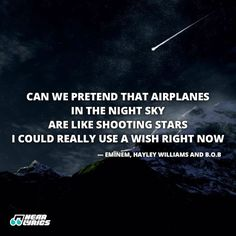 I could really use a wish right now