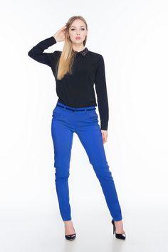 Spodnie rurki SL4005BL www.fajne-sukienki.pl Skinny Jeans, Pants, Fashion, Trouser Pants, Moda, Fashion Styles, Women's Pants, Women Pants, Fashion Illustrations