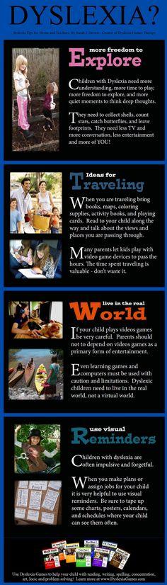 Dyslexia Tips  www.DyslexiaGames.com #Dyslexia Strategies Wenn du mehr über Legasthenie erfahren möchtest, schau dir LRS-Club.de an!